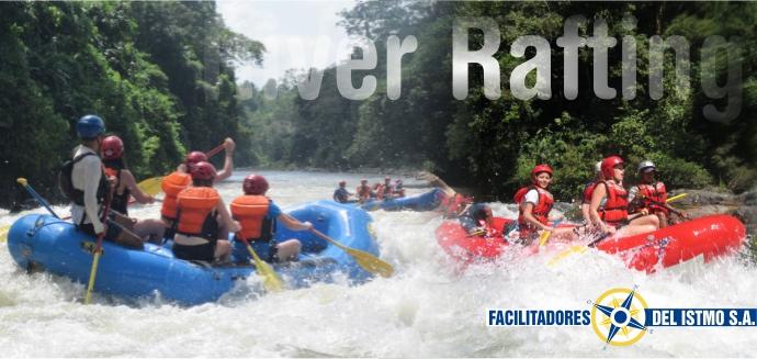 River Rafting Banner